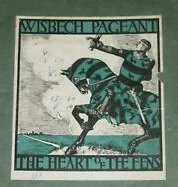 Cover of pamphlet for Wisbech Pageant